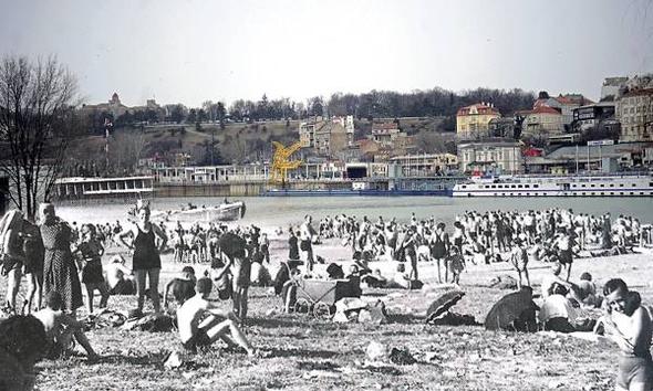 Прва пешчана плажа у Београду добила име по кафани